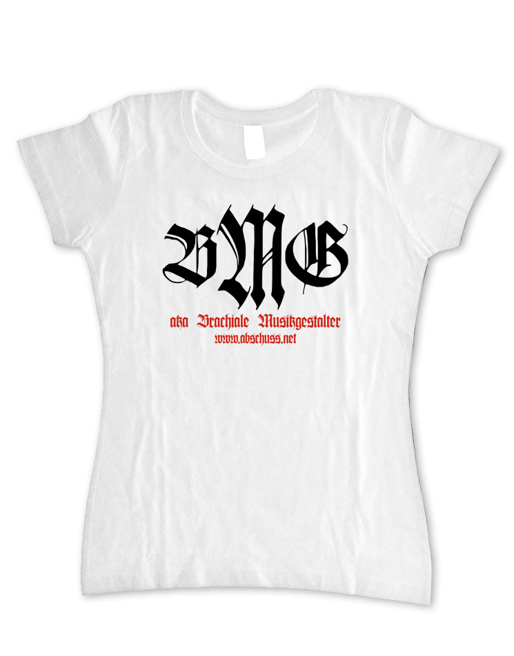 Girly T-Shirt Retro weiss