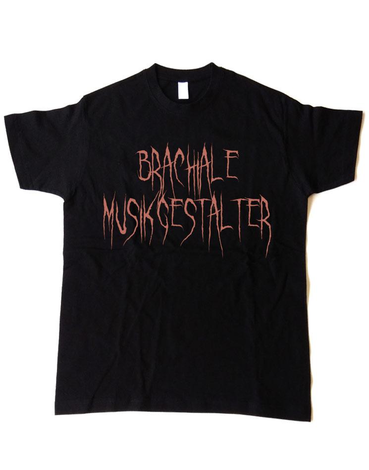 T-Shirt Evil 1 kupfer auf schwarz