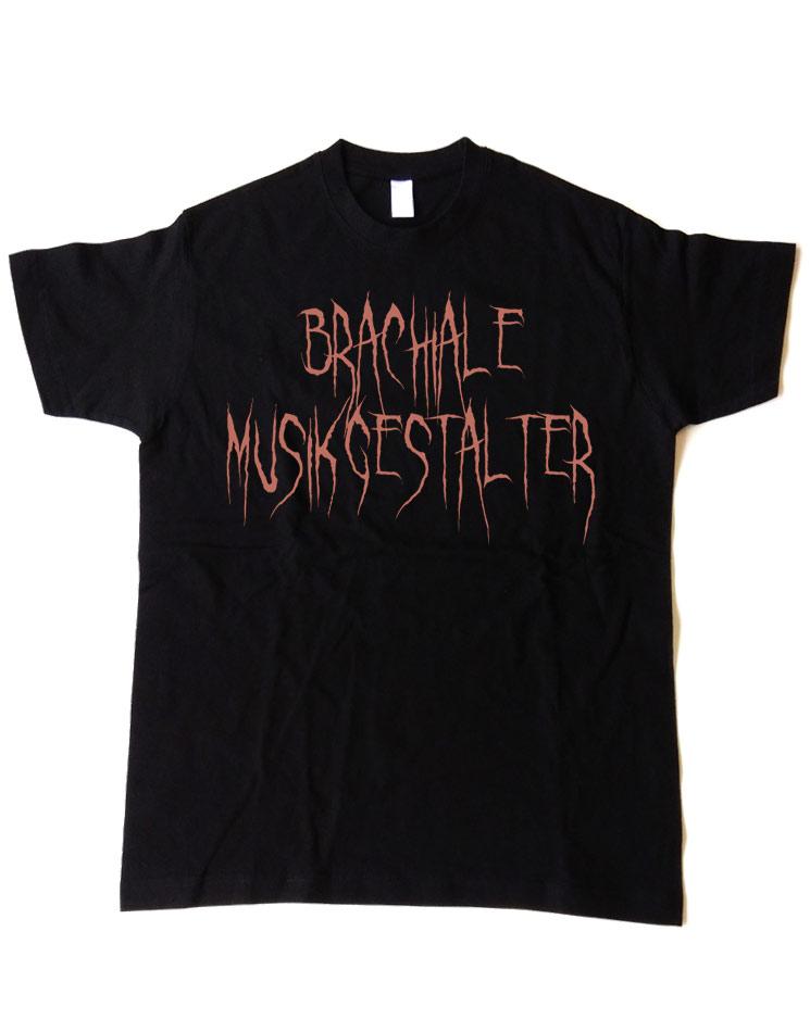 T-Shirt Evil 2 kupfer auf schwarz