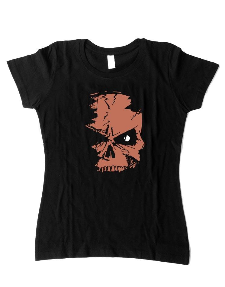 Evil Skull Shirt Girlies