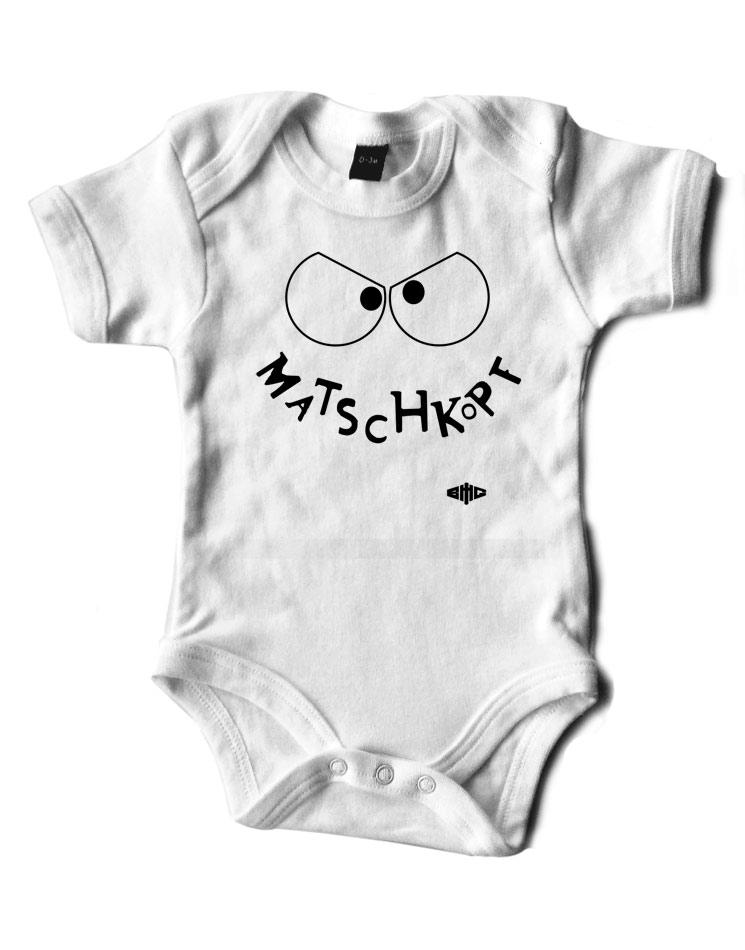 Babybody Evil Matschkopf white