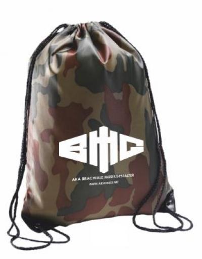 Rucksack Army weiß auf camouflage
