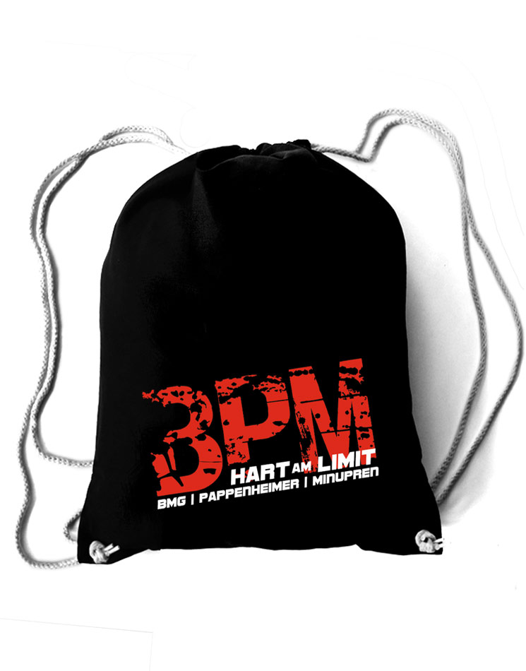 BPM Stoffrucksack, hart am limit edition