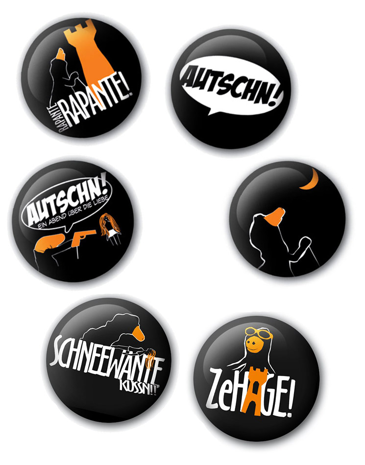 Buttonset mehrfarb