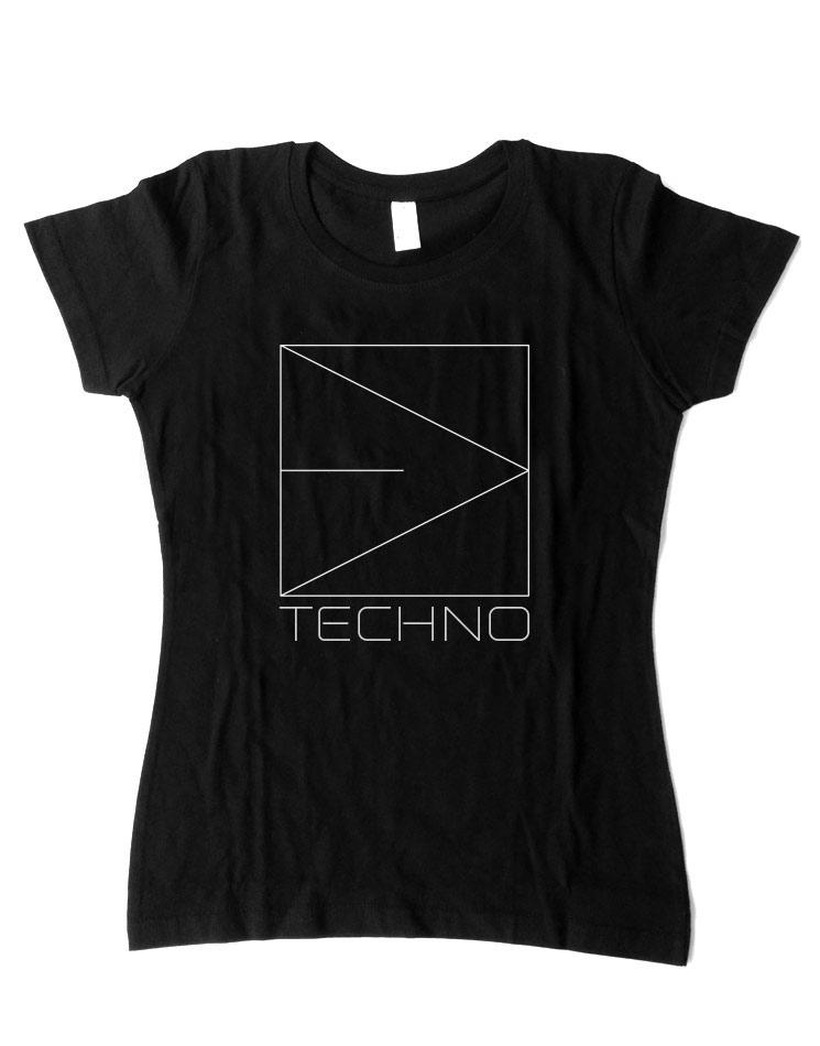 Girlyshirt Techno