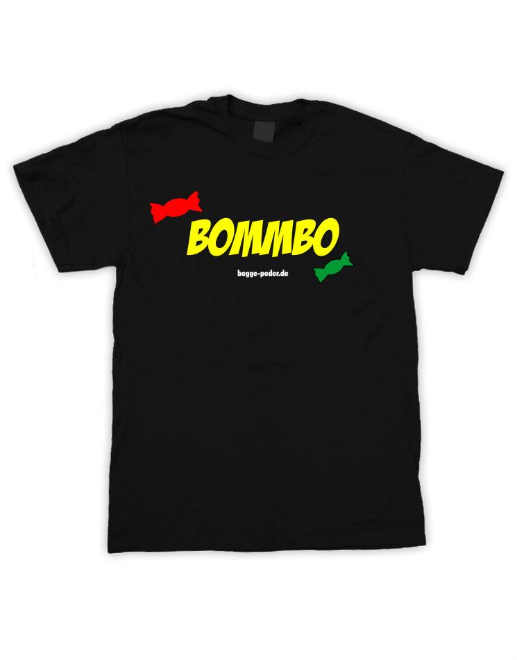 Bommbo mehrfarbig auf schwarz