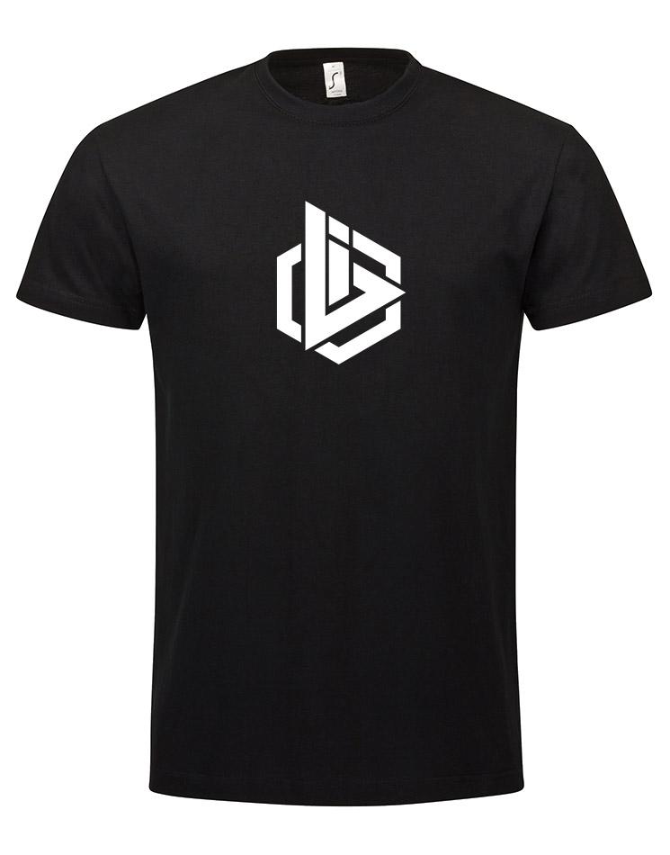 OBI Logo Kinder T-Shirt weiß auf schwarz
