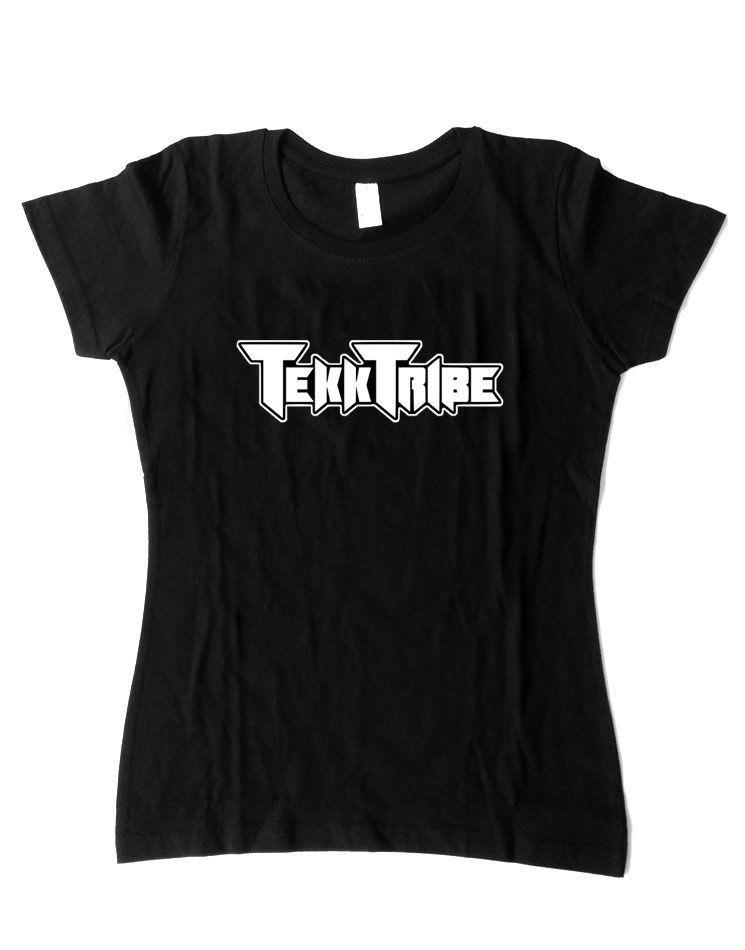 TekkTribe Girly-Shirt schwarz