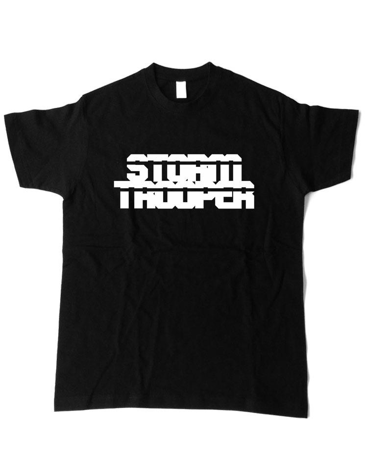 Stormtrooper T-Shirt weiß auf schwarz