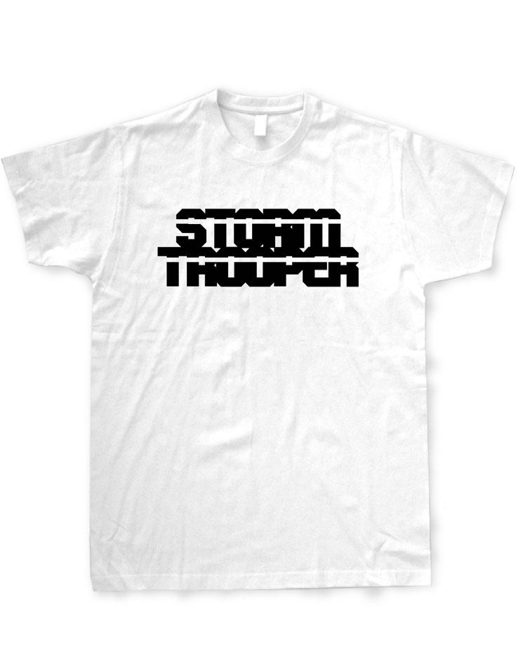 Stormtrooper T-Shirt schwarz auf weiß