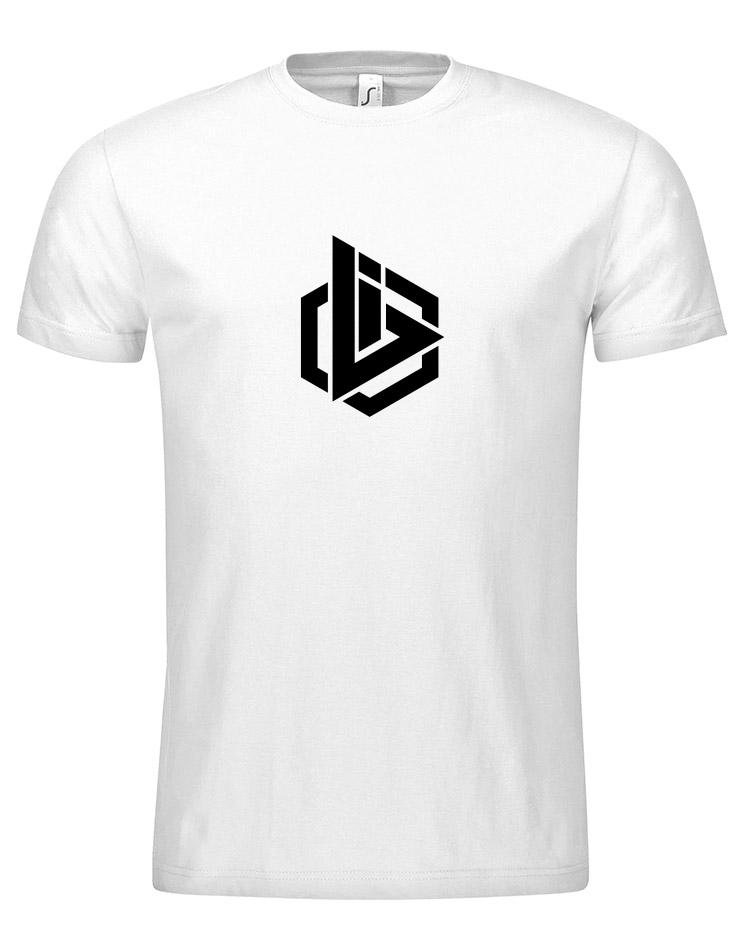 OBI Logo T-Shirt schwarz auf weiß