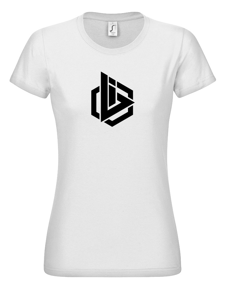OBI Logo Girly Shirt weiss