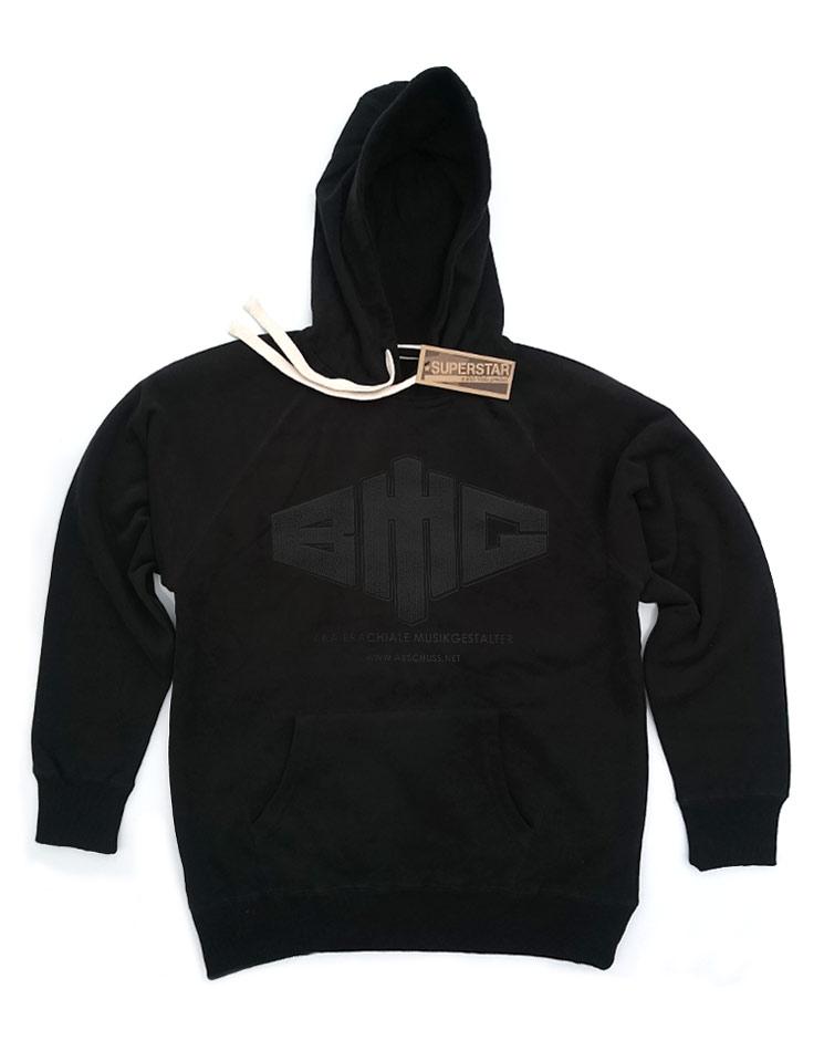 Limited Black Edition Mens Kappu schwarz auf schwarz