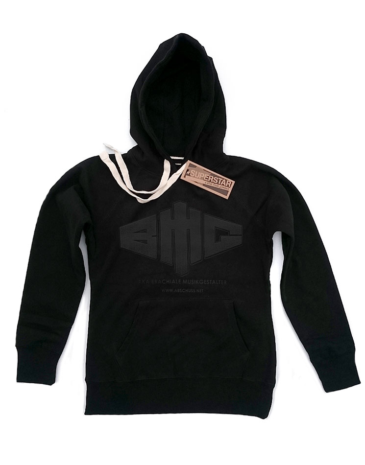 Limited Black Edition Womens Kappu schwarz auf schwarz