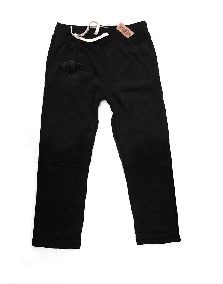 Limited Black Edition Mens Vintage Pants schwarz auf schwarz