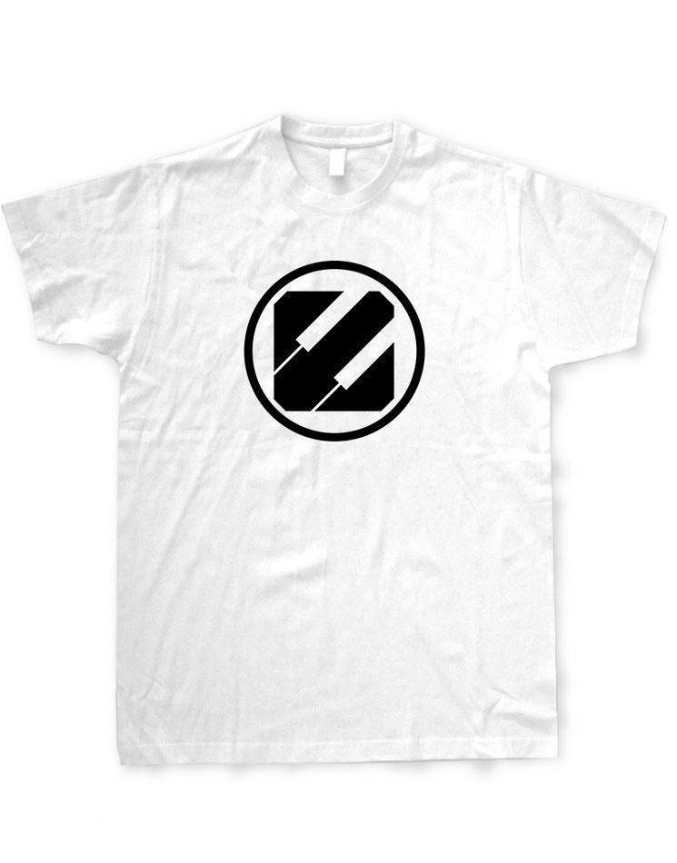 Epyleptika T-Shirt schwarz auf weiß