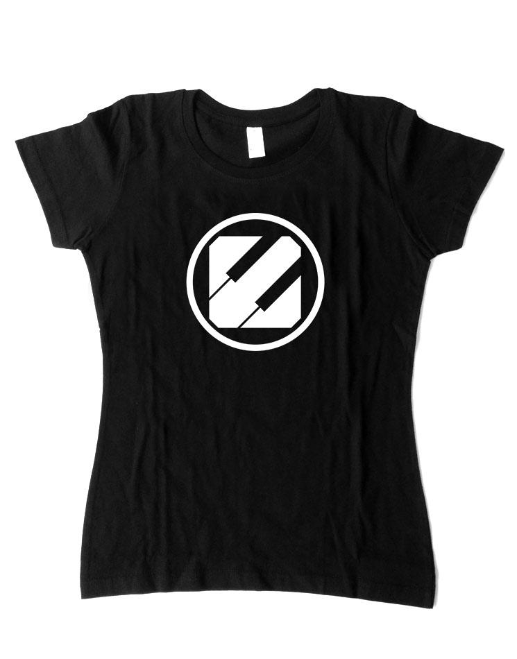 Epyleptika Girly T-Shirt weiß auf schwarz