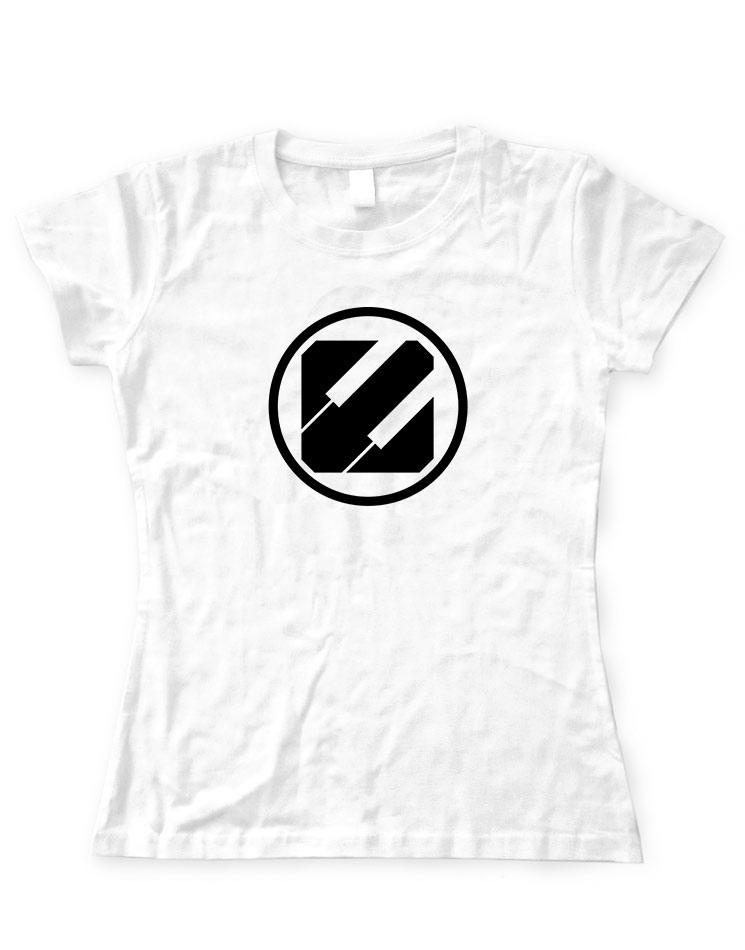 Epyleptika Girly T-Shirt schwarz auf weiß