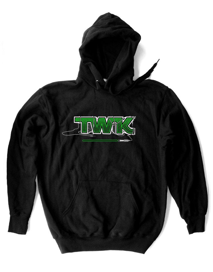 Tobi Wan Kenobi Kappu grün auf schwarz
