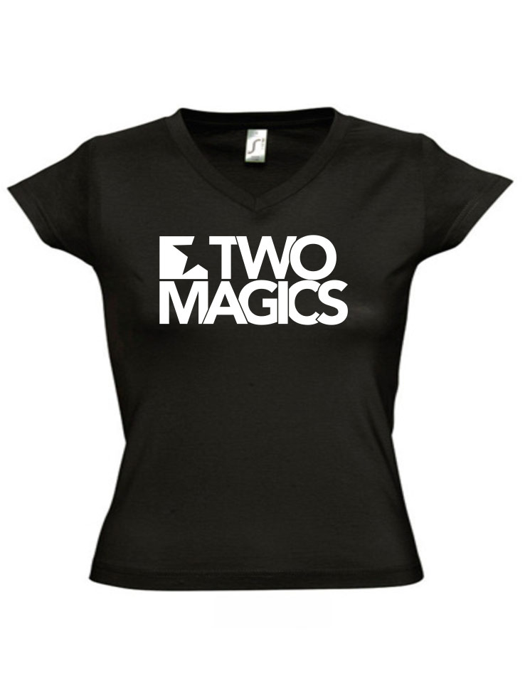 Two Magics V-Neck Girly Shirt