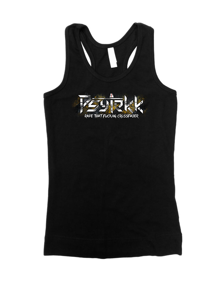 Psytekk Girly Tank Top mehrfarbig auf schwarz
