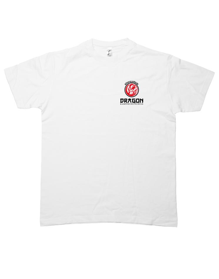 Dragon T-Shirt  weiß Rüsselsheim