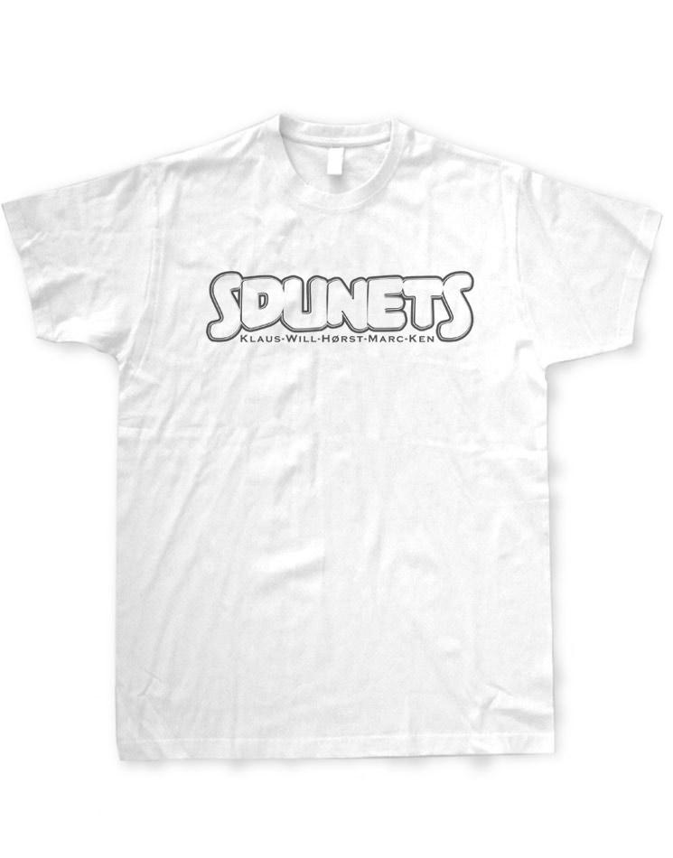 Sdunets T-Shirt schwarz auf weiß
