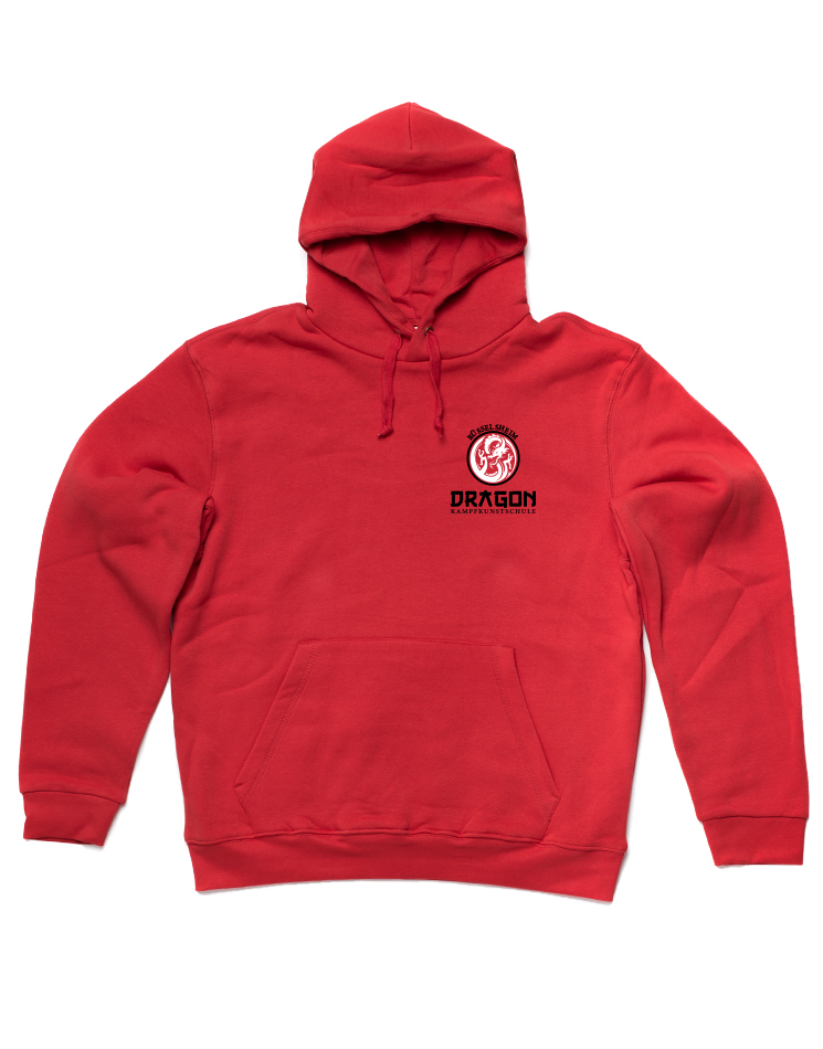 Dragon Hooded Sweat Pullover Rüsselsheim rot