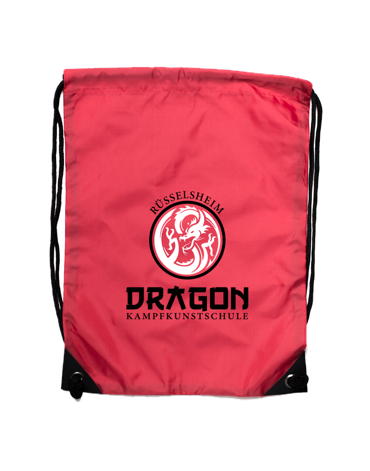 Dragon Premium Gymsac Rüsselsheim rot - Rüsselsheim