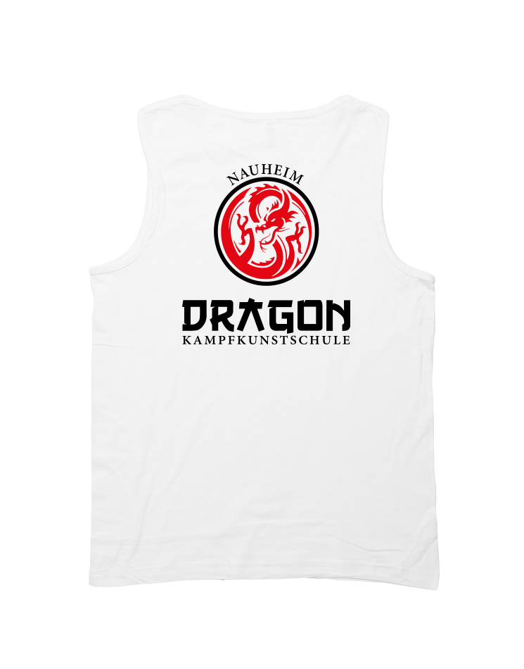 Dragon Mens Tank Top Nauheim weiß - Nauheim