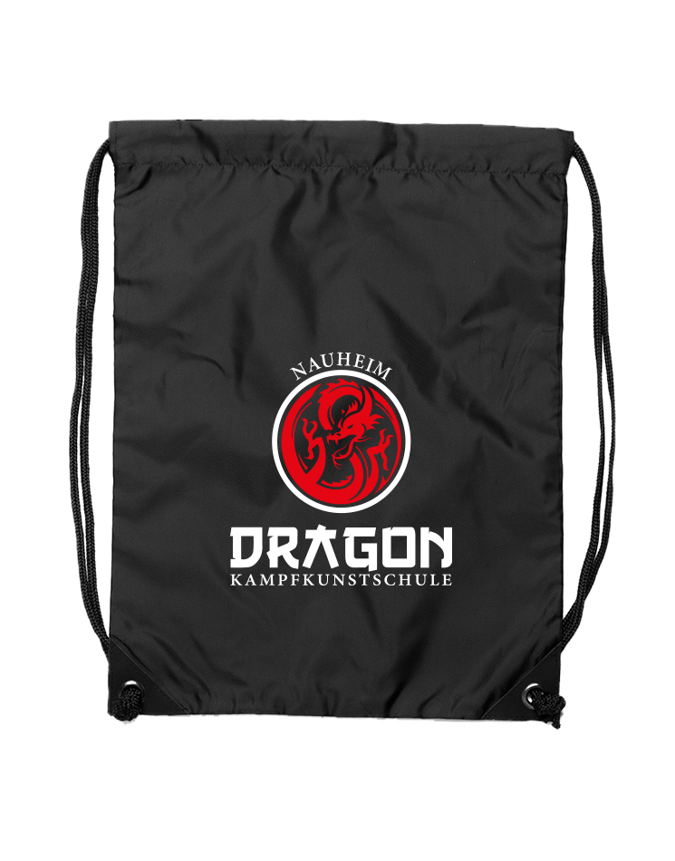Dragon Premium Gymsac Nauheim schwarz - Nauheim