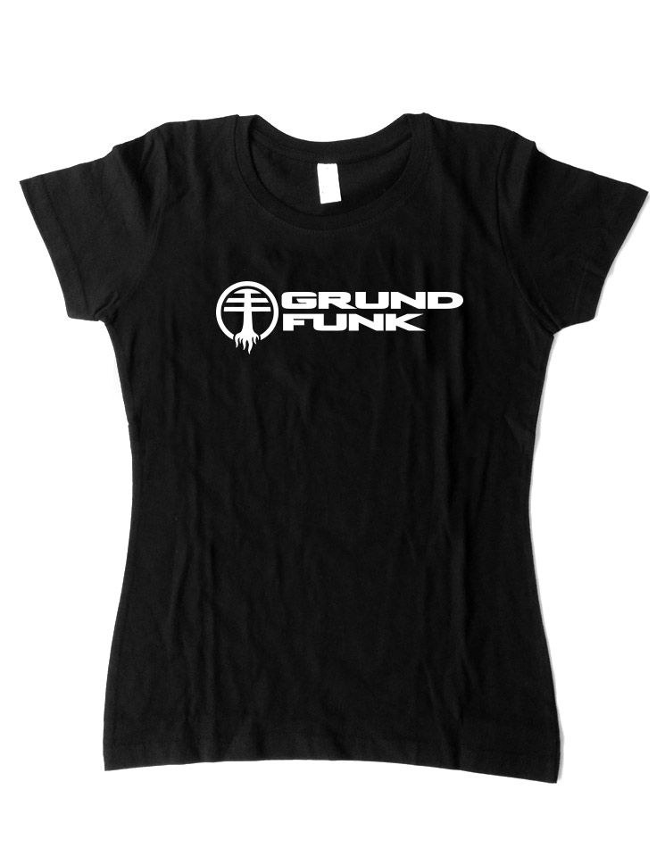 Grundfunk Girly T-Shirt schwarz