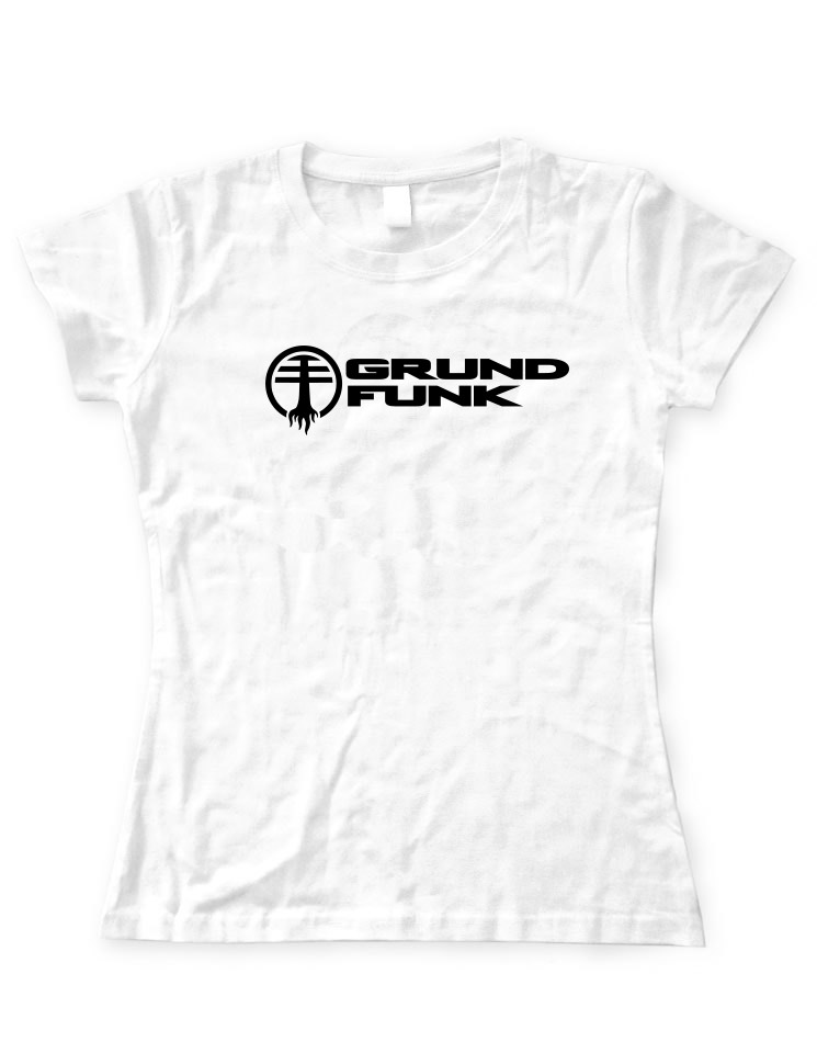 Grundfunk Girly T-Shirt weiss