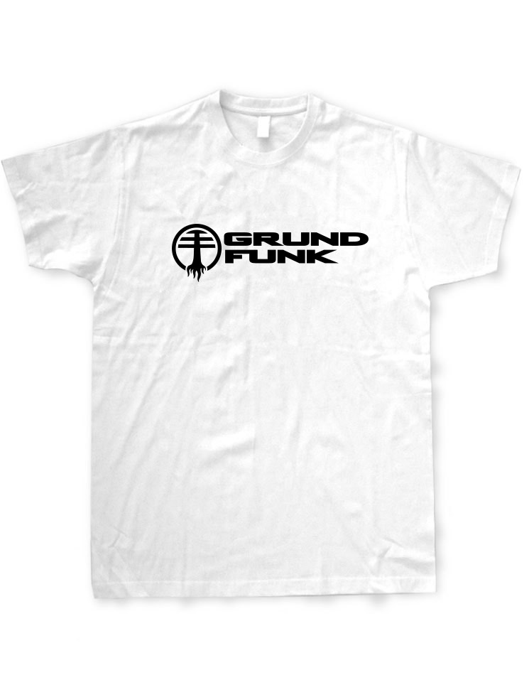Grundfunk T-Shirt schwarz auf weiß