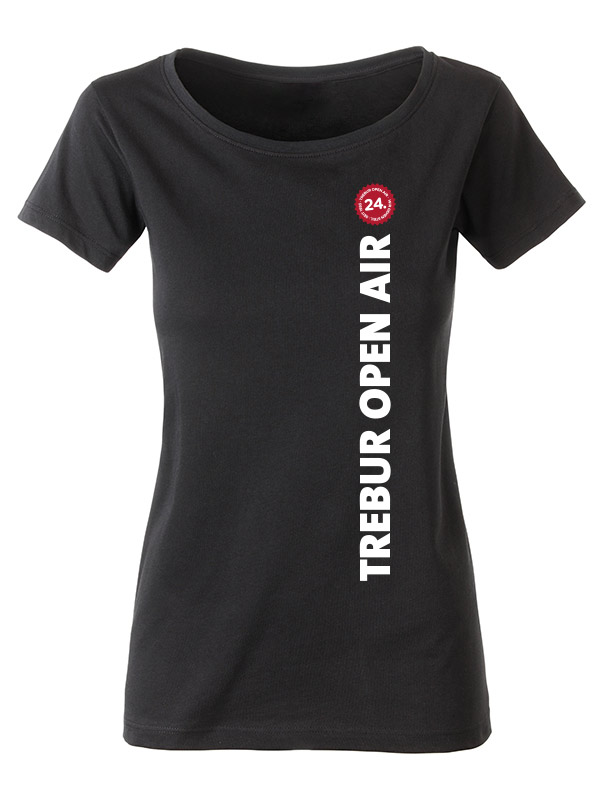 TOA Festivalshirt - Girly - 2016 mehrfarbig auf schwarz