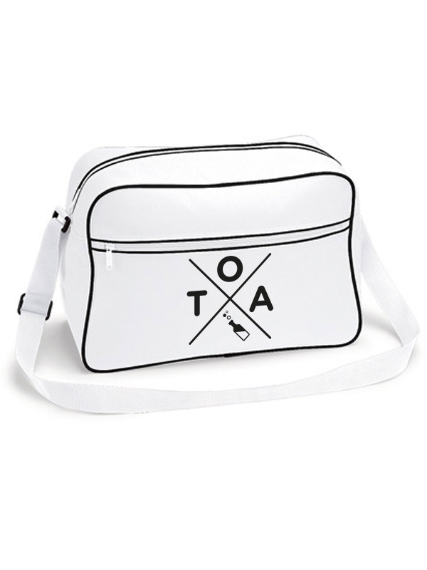 TOA Retro Shoulder Bag weiss