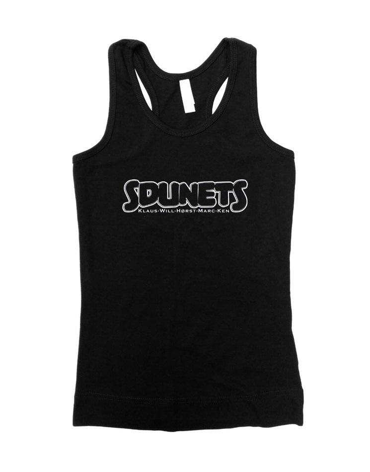 Sdunets Girly Tank Top  schwarz