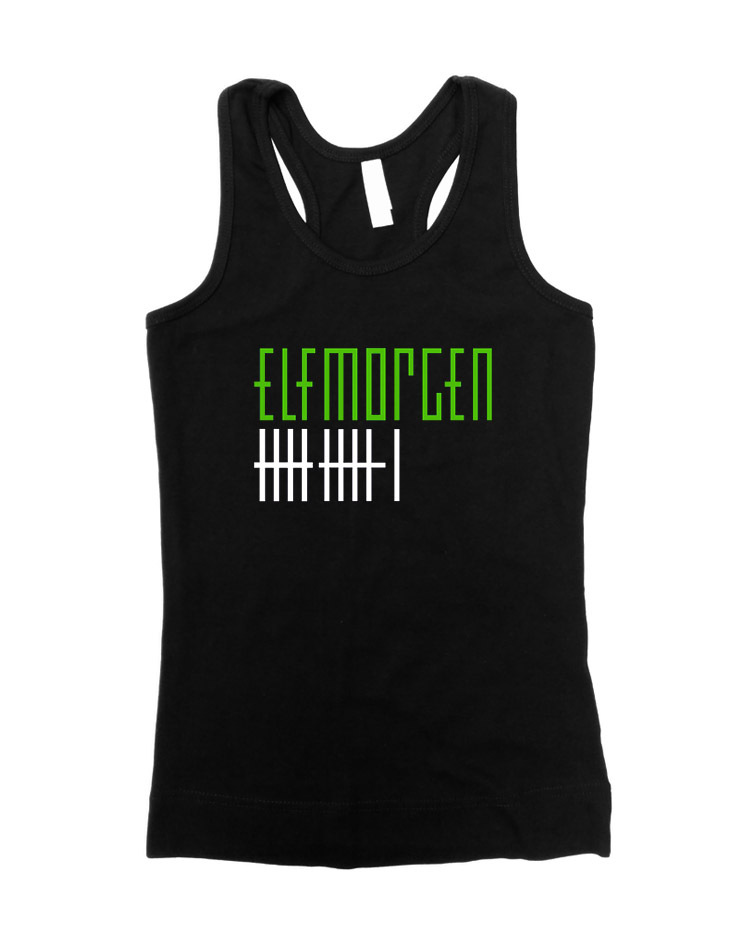Elfmorgen Girly Tank Top schwarz