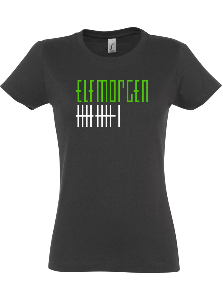 Elfmorgen Girly T-Shirt grau