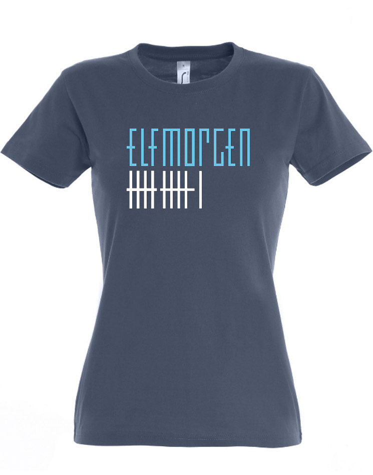 Elfmorgen Girly T-Shirt blau