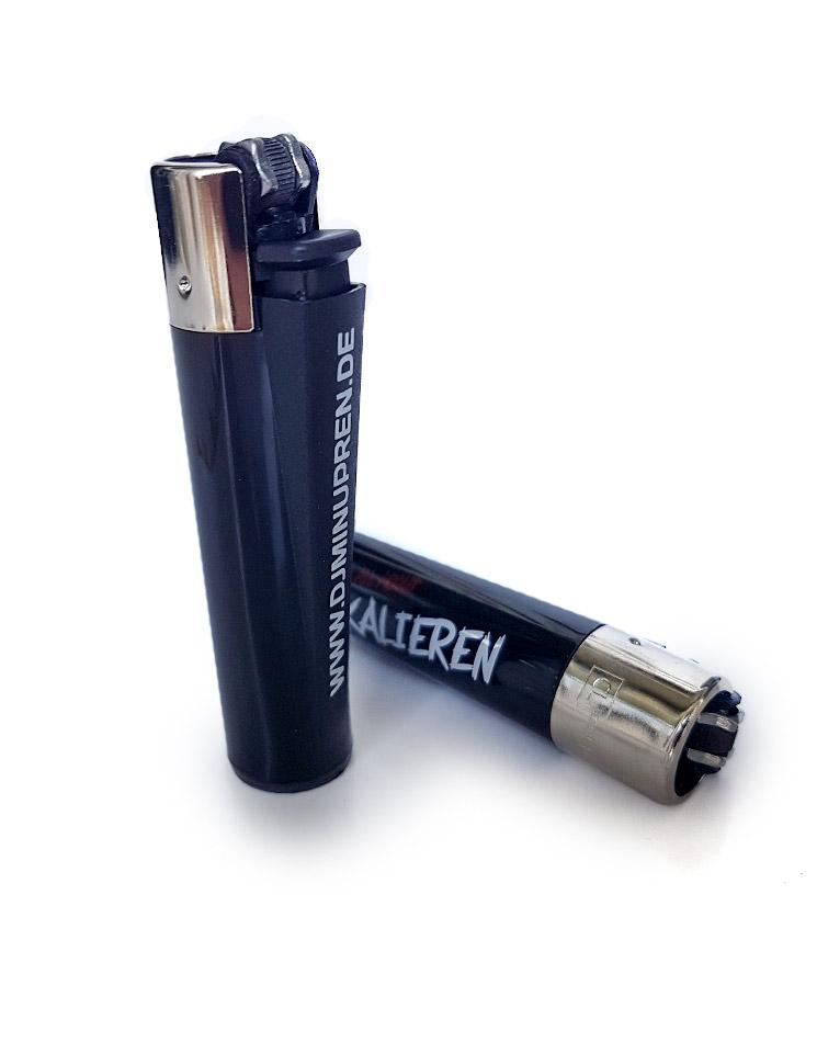 Eskalieren Clipper Feuerzeug  mehrfarbig