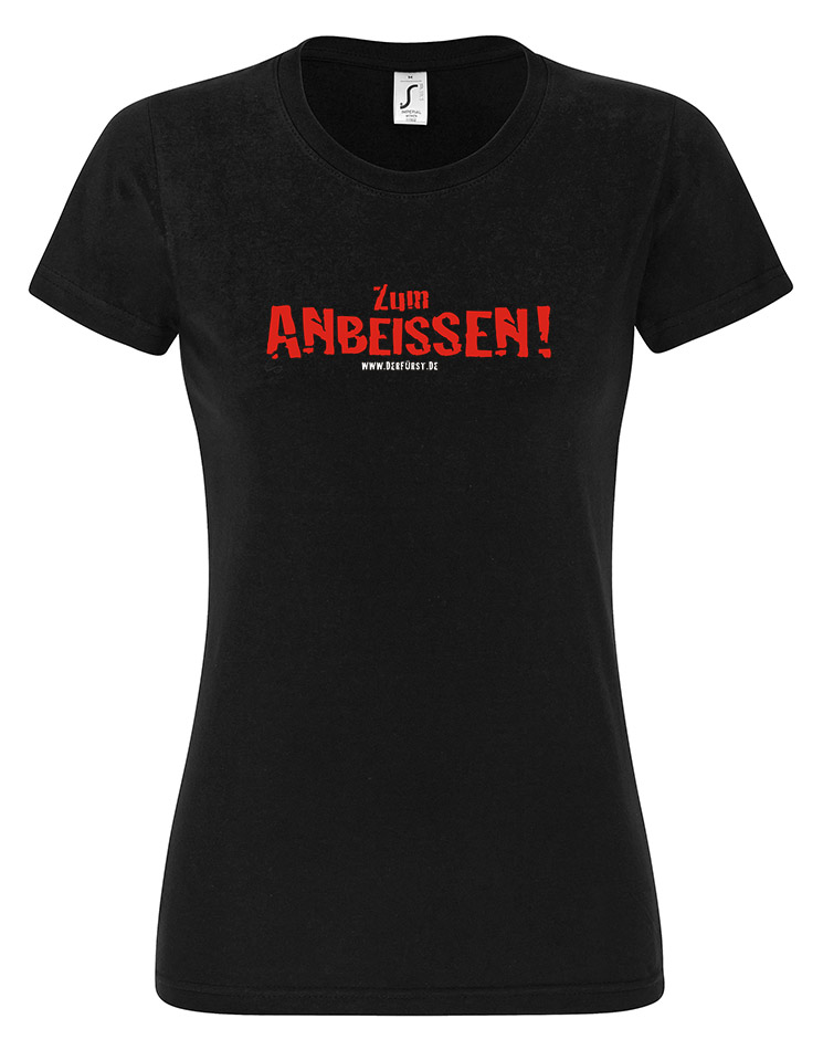 Zum Anbeissen Girly T-Shirt