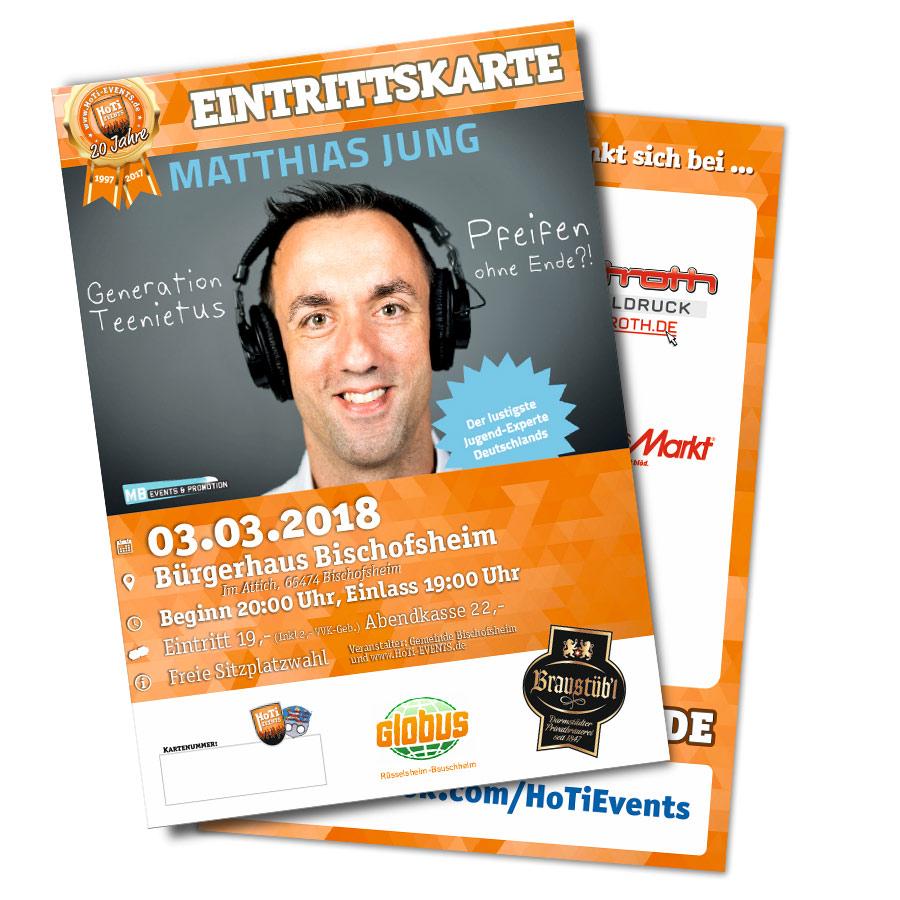 Matthias Jung in Bischofsheim - 3 März 2018