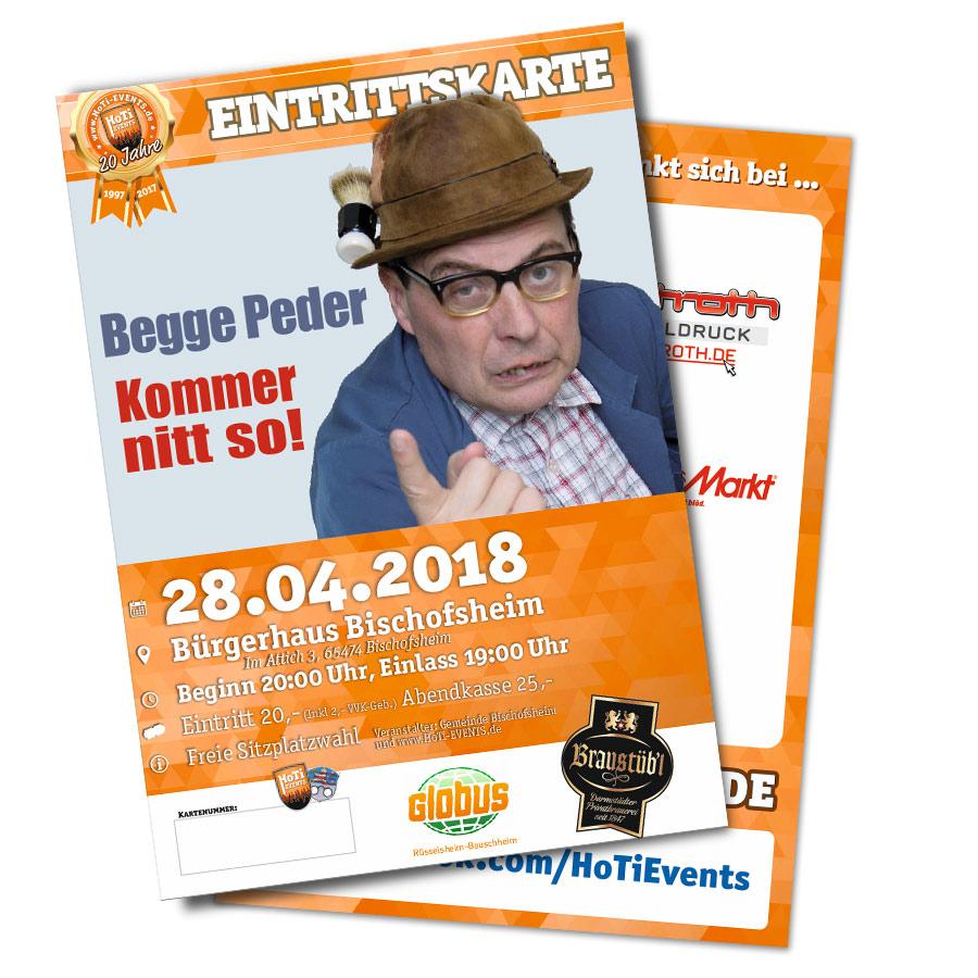 Begge Peder in Bischofsheim - 28 April 2018