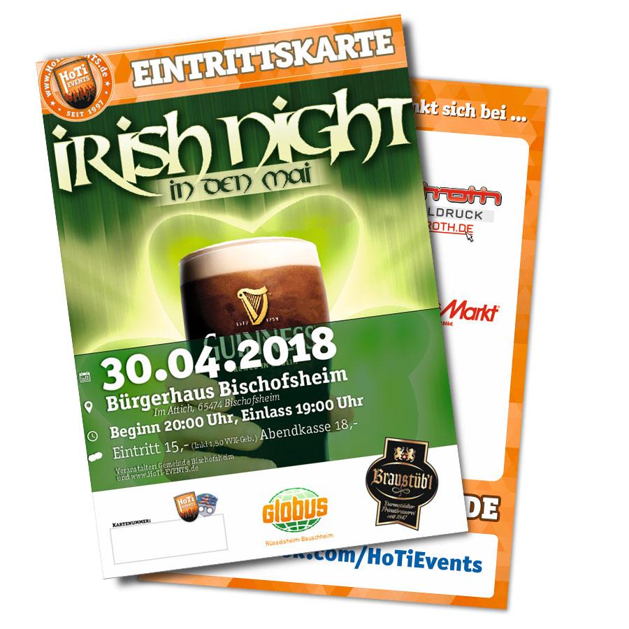 Irish Night in Bischofsheim - 30 April 2018