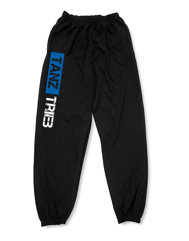 TanzTrieb Jogginghose mehrfarbig auf schwarz