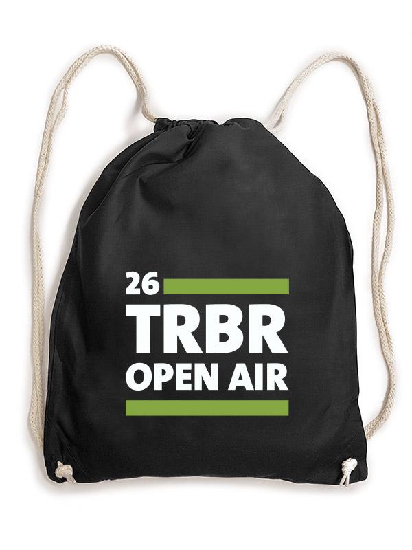 TOA2018 TRBR Turnbeutel weiß auf schwarz