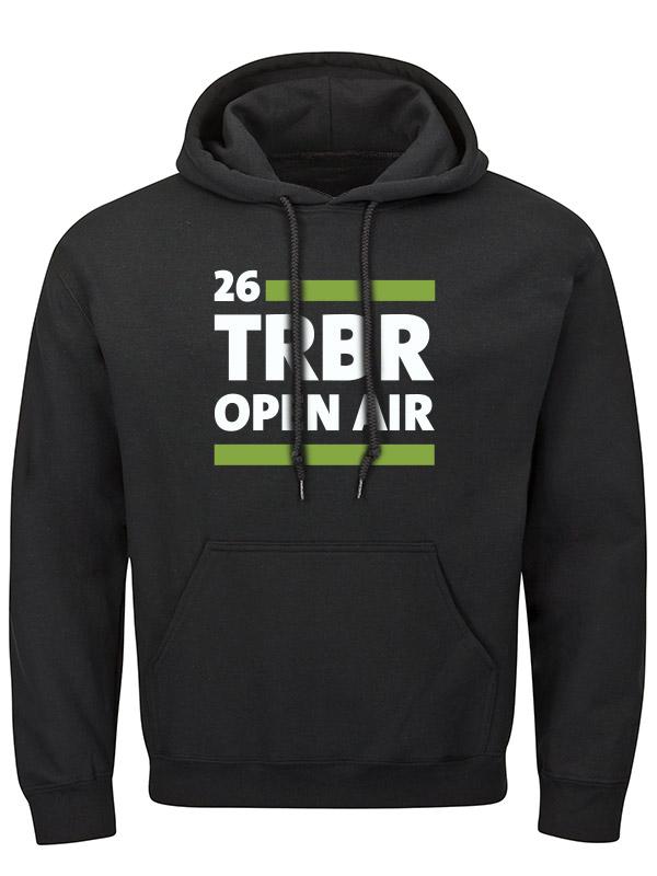 TOA2018 TRBR Kapuzenpullover mehrfarbig auf schwarz