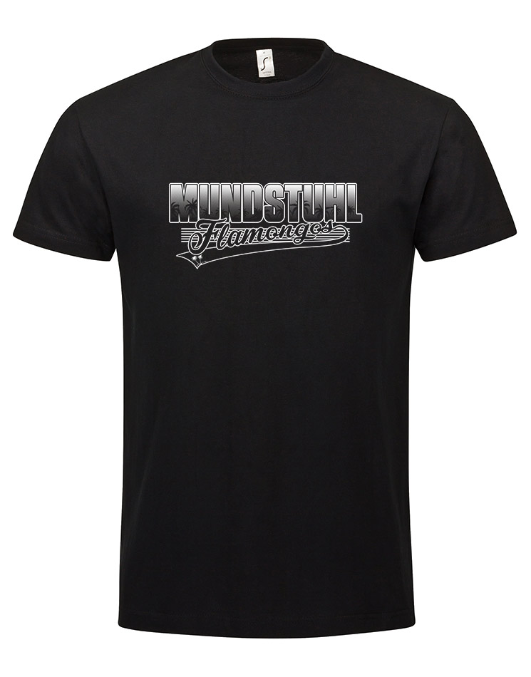 Flamongos Tourshirt schwarz
