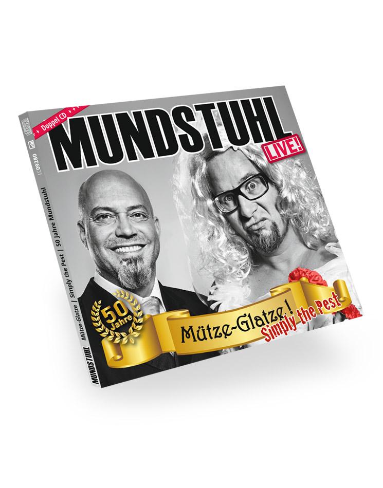 Mütze-Glatze! Simply the Pest LIVE CD